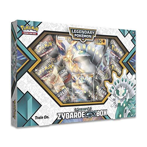 Pokemon TCG Shiny Zygarde-Gx Premium Gx Box  4 Booster Pack  A Foil Promo Card  A Oversize Foil Card