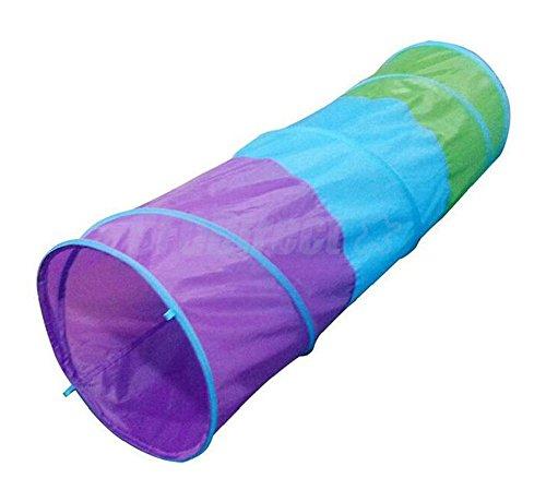 Foldable Pop Up Tent Kids Children Indoor Outdoor Playtent Crawl Tunnel