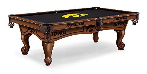 Iowa Hawkeyes 8 Pool Table - Navajo