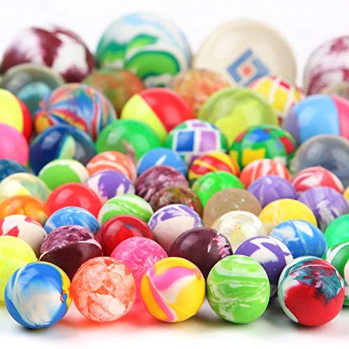PROLOSO 110 Count Bouncy Balls Bulk High Bouncing Play Toys