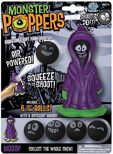 Monster Popper Moody Soft Foam Ball Shooter