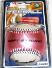 Franklin Soft Strike Teeball - Pink White Ball