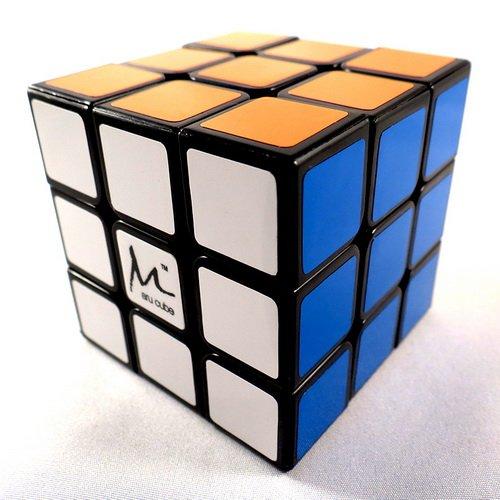 3x3x3 Maru CX3 CX-3 Black Puzzle Cube BLK Smooth 3x3 Speed New Twisty Toy Gift