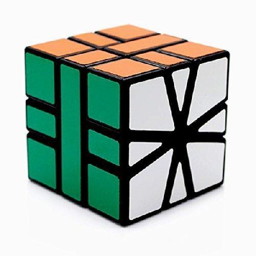 Square-1 CubeTwist Black Puzzle Cube CT Puzzle Toy Square 1 Twisty Gift