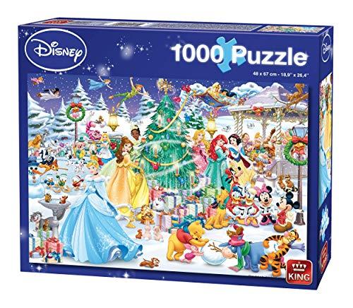 King 5266 Disney Christmas Jigsaw Puzzle 1000-Piece 68 x 49 cm