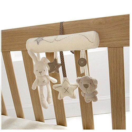 VWH Infant Soft Rabbit Bear Star Cot Stroller Handbell Rattles Toys
