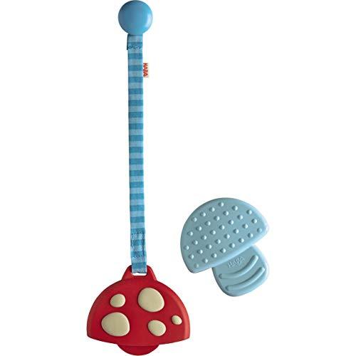 Haba Clutching Toy Mushroom Silicone Teether