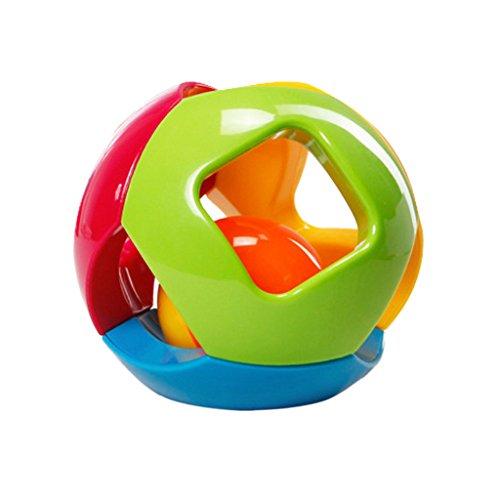 Kids Educational Plastic Rattle Shake Bell Baby
