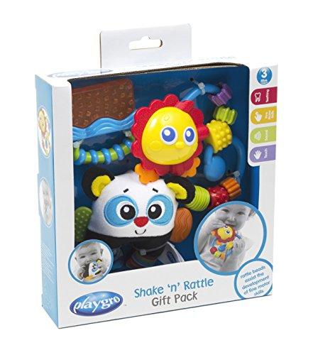 Playgro Shake n Rattle Gift Pack - Blue