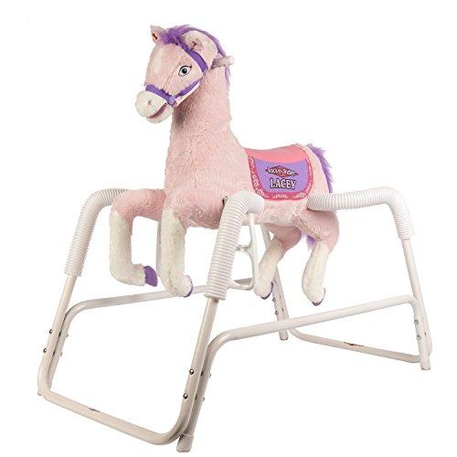 Rockin Rider Lacey Talking Plush Spring Horse