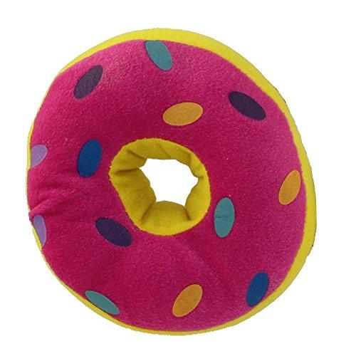 Peek-A-Boo Toys - DONUT PLUSH Pink - 6 inch