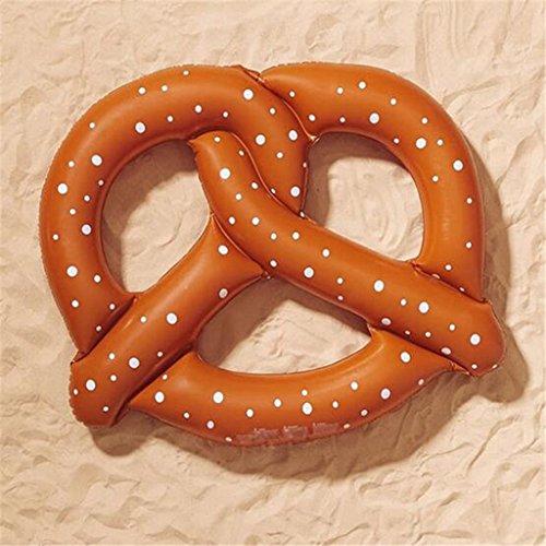edealingTM Inflatable Pool Toy Donut Shape Float Raft Swim Gigantic Circle Ring