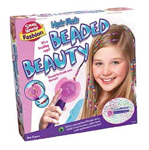 Small World Toys Fashion - Hair Flair Beaded Beauty Kit
