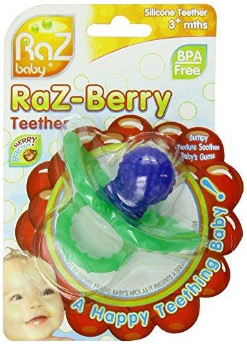 RaZberry Teether - Blue by Razbaby