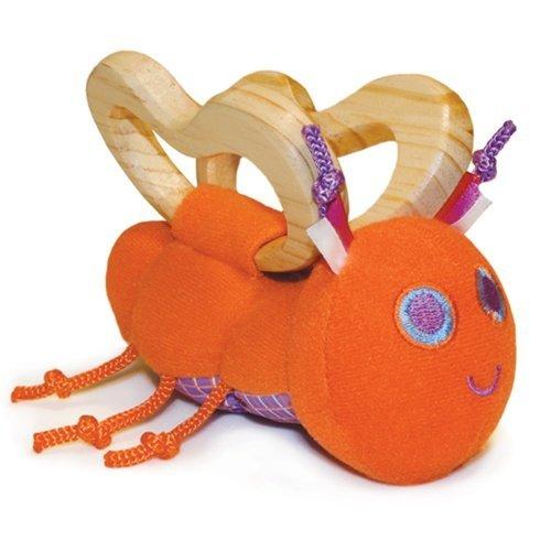 Pkolino Butterfly Teether - Orange