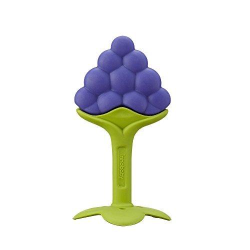 Innobaby Teethin Smart Ez Grip Massaging Teether Grape by Innobaby LLC