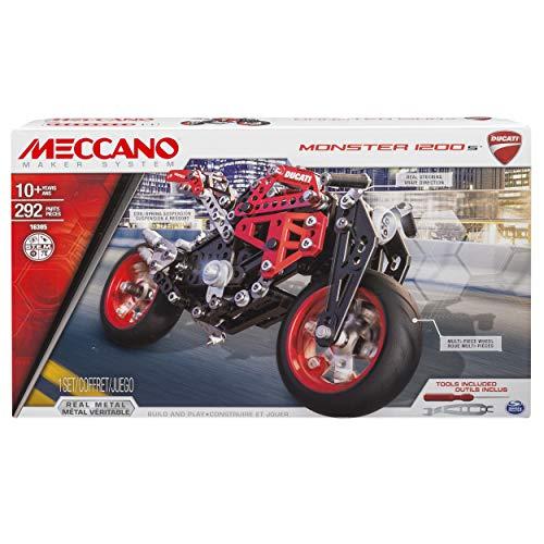 Meccano by Erector Ducati Monster 1200 S Model Building Kit