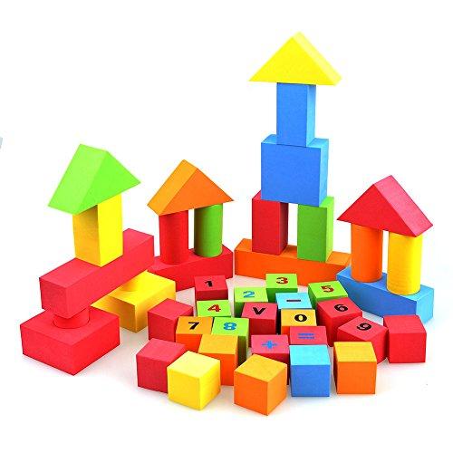 Kayau Puzzle Building Blocks Creative Educational EVA Fun Foam Building Blocks