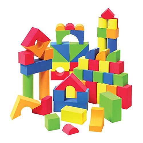 Liberty Imports Creative Educational EVA Foam Building Blocks - 131 Pcs