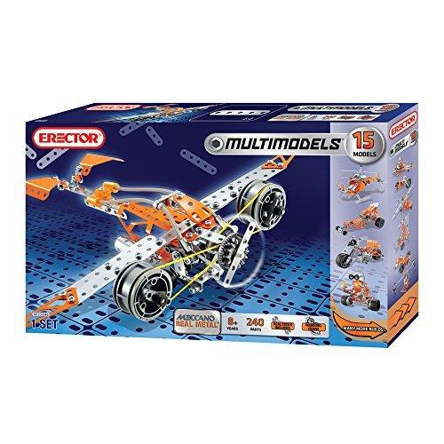 Mechano Meccano Erector Multimodel 15 Model Set 6023896 parallel import goods