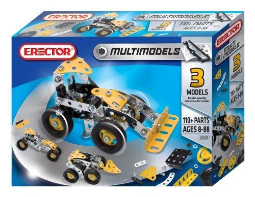 Mechano Meccano Erector Multimodel 3 Model Set 6023560 parallel import goods