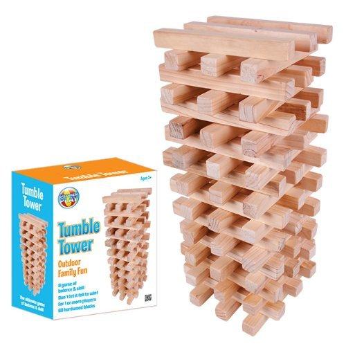 Benross Summer Play Garden Fun Giant Wooden Tower Game by Benross Summer Play