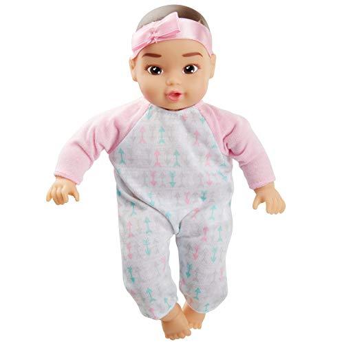 Perfectly Cute My Lil Baby - 8 Baby Girl Doll - Dark Brown Hair