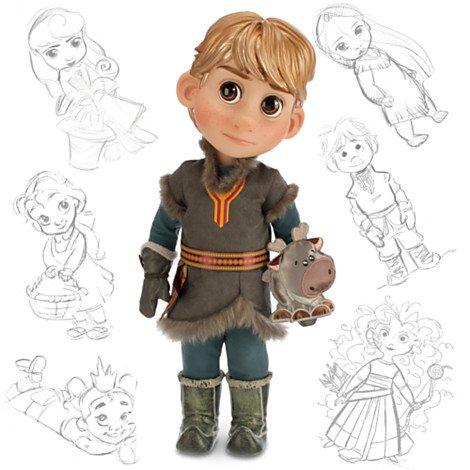 Disney Frozen Kristoff Animator Toddler Doll Toy