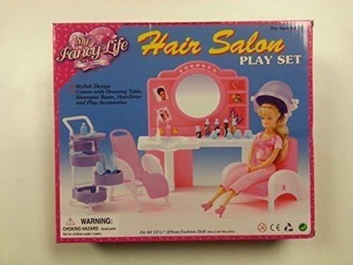 GloriaBarbie Doll House Furniture96009 My Fancy Life Hair Salon