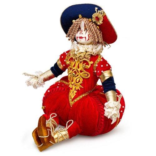 Collectible Porcelain Doll Large Clown