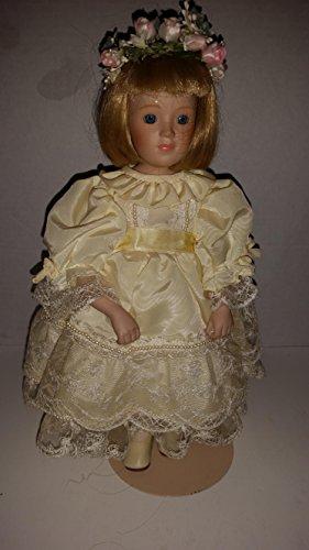 PRINCESS DIANA Flower Girl Collectible Porcelain Doll The Danbury MintThe Royal Wedding