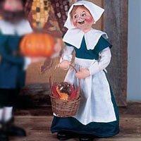 Annalee 11 Pilgrim Woman Doll