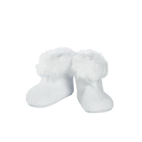 Adora 20 Baby Doll Shoes Shoe White Fur Trim Boot