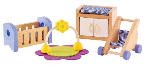 Hape - Babys Room Wooden Doll House Furniture