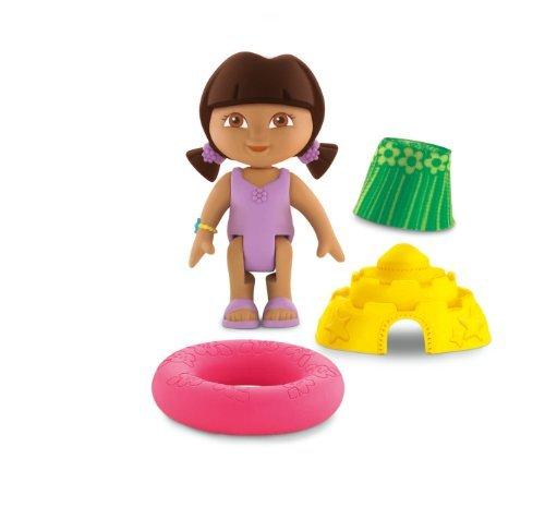 Fisher-Price Dora the Explorer Dollhouse Figures - Beach Adventure Dora