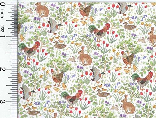 Dollhouse Wallpaper Country Springtime by Jackson Miniatures