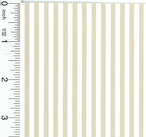 Dollhouse Wallpaper Marusia Stripe Cream