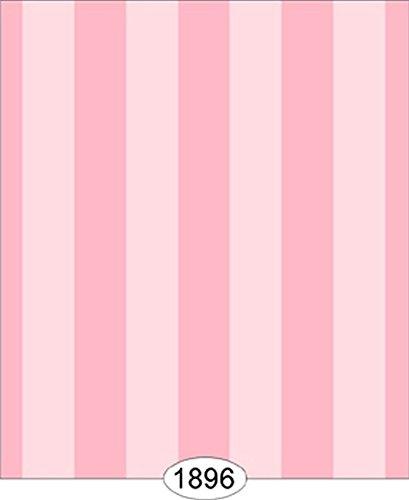 Dollhouse Wallpaper Salisbury Stripe Pink