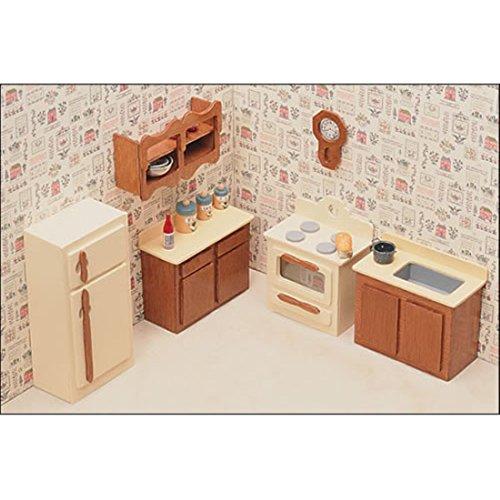 Kitchen Furniture Kit Dollhouse Furniture