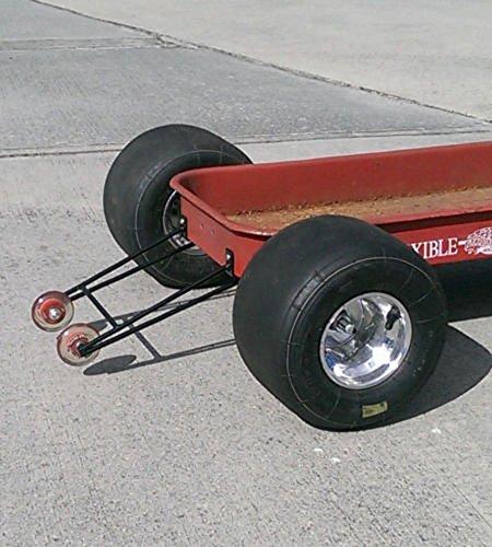 Custom Radio Flyer Wagon WHEELIE BARS Flexible Flyer Hot Rod Rat Rod Pedal Car