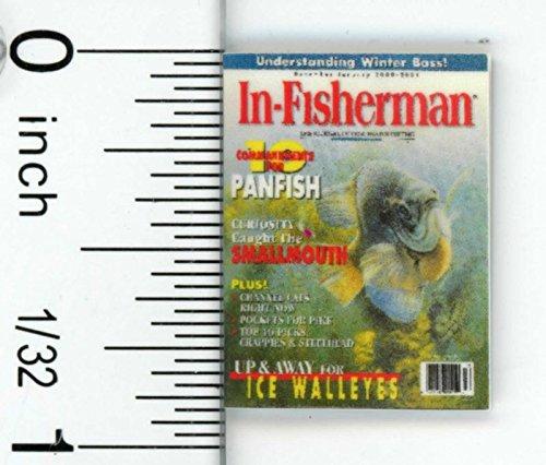Dollhouse Miniature Magazine for the Fishing Devotee by Cindi039s Mini039s