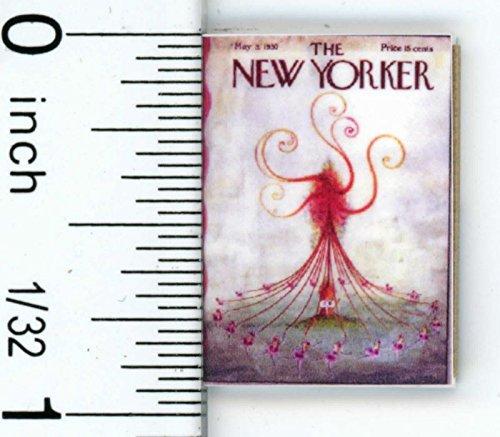 Dollhouse Miniature Vintage New Yorker Magazine by Cindi039s Mini039s
