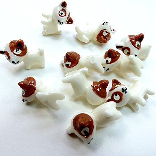 Miniature mascot dog 10 together MC-102 miniature furniture dollhouse parts display
