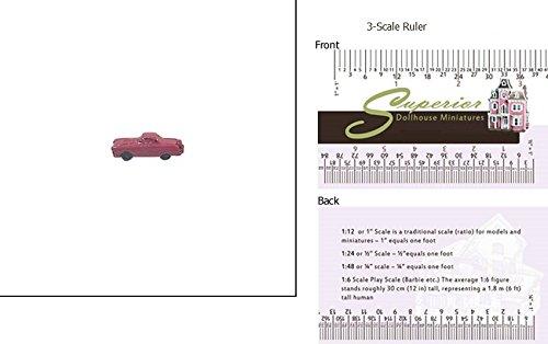 Dollhouse Miniature Toy Car