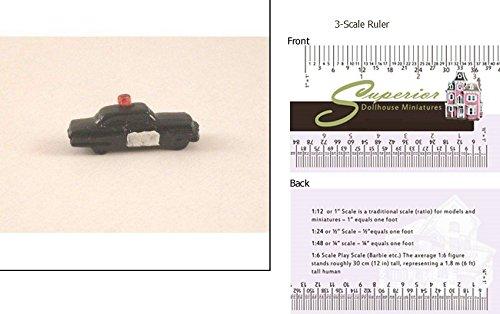 Dollhouse Miniature Toy Police Car