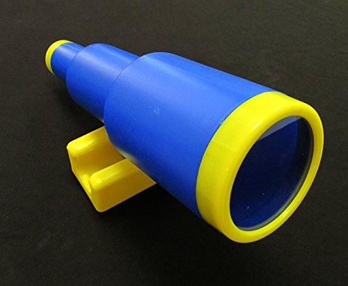 Playground Telescope BlueYellow Playset Accessory Toy Telescope