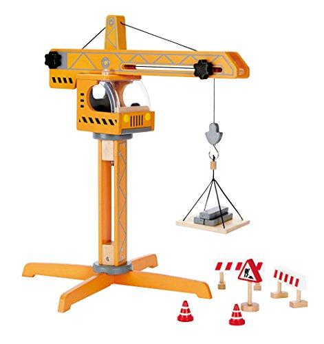 Hape - Playscapes - Crane Lift Wooden Play Set