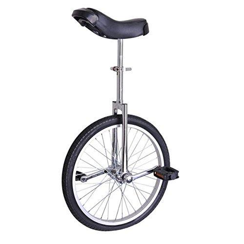 20 inch Wheel Unicycle Chrome