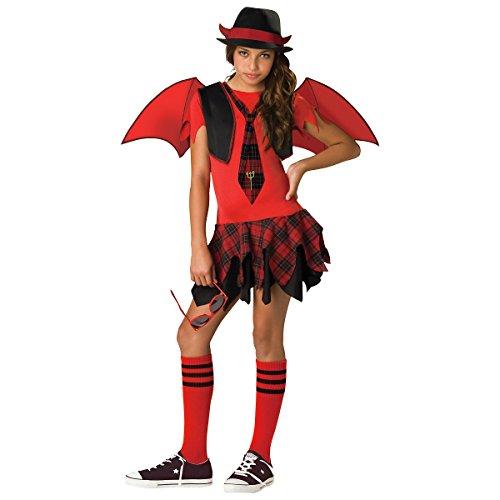 Delinquent Devil Tween Costume - Small