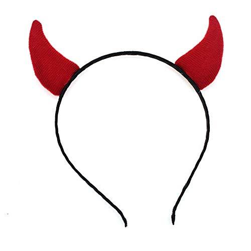 Devil Horns Halloween Headband Halloween Costume Accessory
